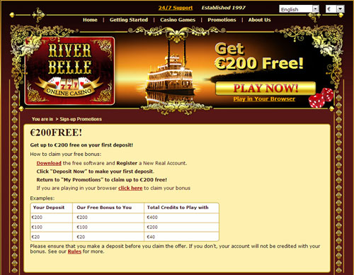 River belle casino review atlantic lounge casino